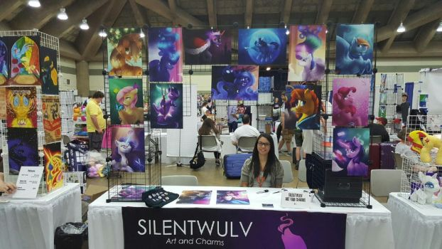Silentwulv at Bronycon by SilentWulv