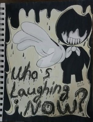 Who's Laughing Now? by WispTheKitty