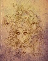APH - Honorable Mentions by mekanikarutenshi