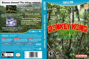 Donkey Kong Country Trilogy by TheWolfBunny