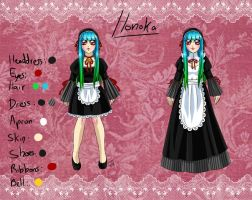 Honoka's ref by Coco-of-the-Forest
