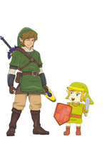 Link and Link  by BigBoss111