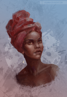 [Study] African Beauty by RoanNna