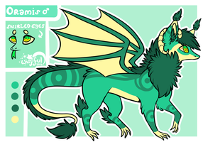 Oramis Reference Sheet by Kitsurie