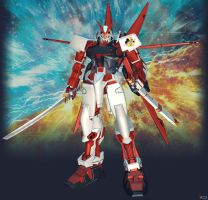 MBF-P02 Gundam Astray Red Frame by Goreface13
