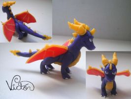 Spyro the dragon by VictorCustomizer