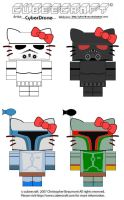 Cubees - Star Wars Hello Kitty by CyberDrone