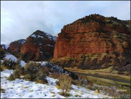 Grand canyons.....UTAH...winter.2 by gintautegitte69