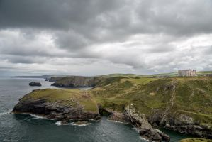 Coastline, Tintagel by Penson37