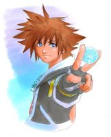 KH2: Blue Crystal by Risachantag