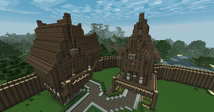 Medieval Houses by Pugwis