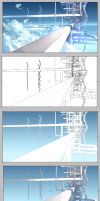 Stair to the heaven-Process by JOEIAN