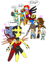Beast Wars: Crack Pairings by lady-warrior