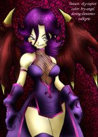 Demonez color by bry-angel by skyraptor