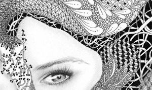 Detail nr.2 A Beautiful Mind by TheArtofAnnika