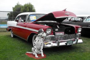 1956 Chevy Bel Air Sport Coupe by Photos-By-Michelle