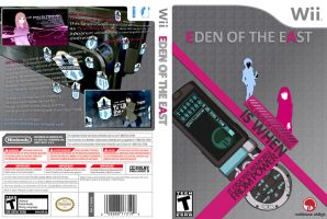 Eden of The East Wii Game Art by Audiospade