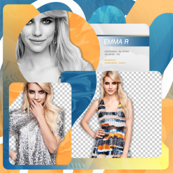 Png Pack 680 // Emma Roberts by confidentpngs