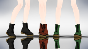 MMD DrMartens Boots DL by yokkaulove