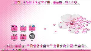 Pink Stack Icons by Adrienne80