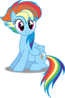 Vector #157 - Rainbow Dash #24 by DashieSparkle