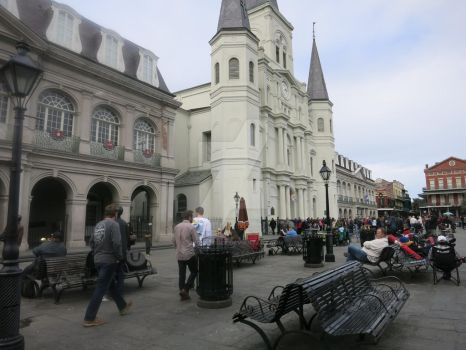 New Orleans Architecture by Dygyt-Alice
