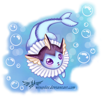 PKM - Vaporeon by Wingsie