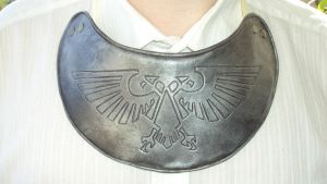 Imperial Guard Refractor Field Gorget by DefenderHecht