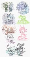 ACNL - Sketch Mess 02 by sanna-mania