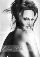 Angelina Jolie no3 by ElenaR