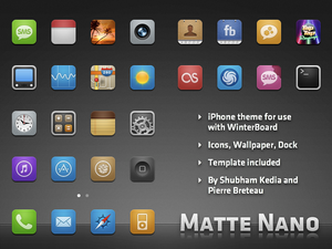 Matte_Nano_theme_for_iPhone