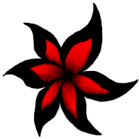 Red and Black Flower by Landon783