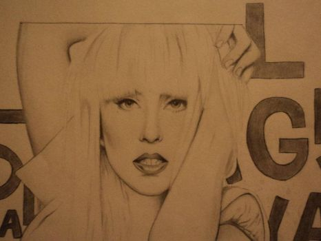 Lady Gaga Close up. by Freezingforheat