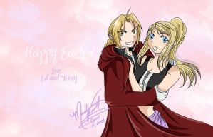Happy Easter EdxWinry by SassyLilPanda