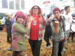 InFAMOUS Second Son Cosplayers - Nan Desu Kan 2014 by YandereCosplay