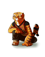 kung fu panda tigress. by janjin192