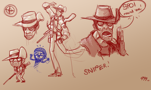 .:Sniper Sketches:. by Baals-Baby