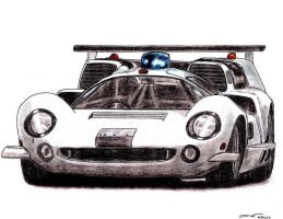 1967 Lola T70 MkIII THX 1138 1 by TwistedMethodDan