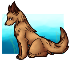 Eria-Wolf Character by AbyssinChaos