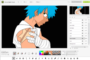 Black*Star WIP by LetsBecomeMemories