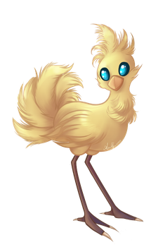 Chocobo by Bunnlette