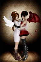 Angel and Devil by 25Credo