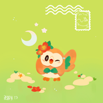 Rowlet by ieafy