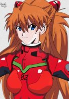 Asuka Langley Soryu by Koniak007