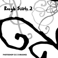 Rough Swirls Set 2 by Energetic-Innovation
