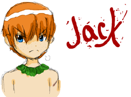 Sketch of Jack from LotF by Perry-noid