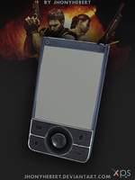 Mobile Phone Chris Redfield - Resident Evil 5 by JhonyHebert