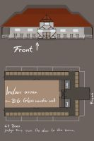 The new barn and indoor arena | information by BRls-love-is-MY-Live