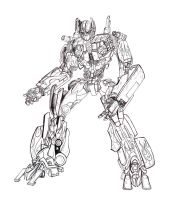 Optimus Prime Moviestyle by Tophoid