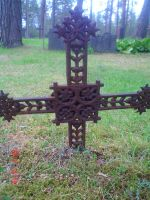 An old cross I by vonderwall